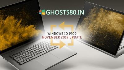 微软开始Windows 10从1809到1909的强制升级