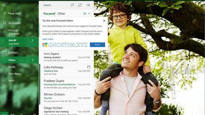 Win10的邮件和日历应用程序更新了许多新功能