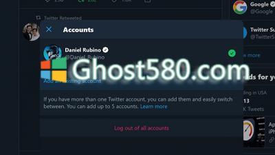 Windows 10:Twitter在最新更新中获得了多帐户支持