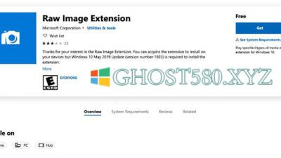 Microsoft发布适用于Win10的免费RAW图像查看器扩展