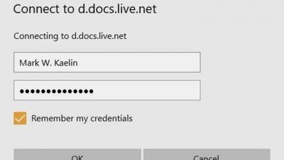 如何在Win10中为Microsoft OneDrive分配驱动器号