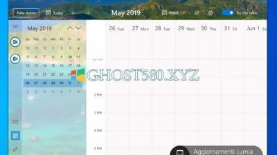 Windows 10中新日历的外观