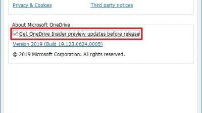 如何在Win10上获取OneDrive的Insider预览