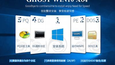 Ghost Win10创意者更新64位专业版(15058)