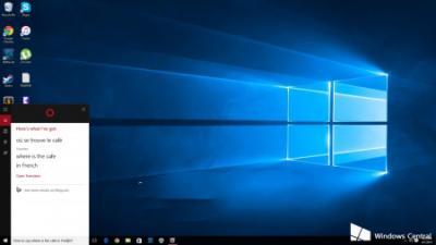 """微软为Windows 10""""小娜""""加入本地翻译技能"""