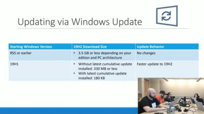 微软为Windows 10 1909的``开''开关做的很小