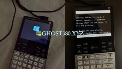 开发人员在图形计算器上运行Windows 10