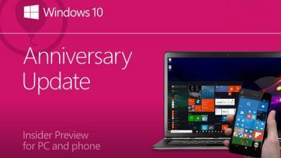 快讯:微软向Win10发布预览和慢速通道推送14393.103