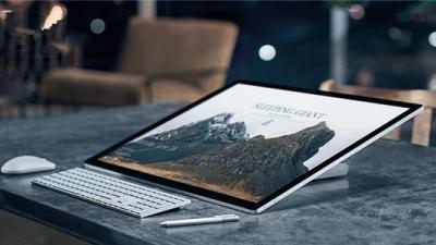 微软Win10一体机Surface Studio展露头角:份额占比0.1%