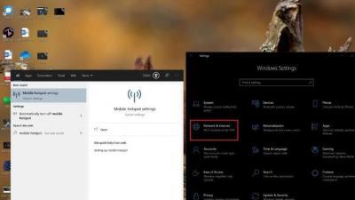 如何将Windows 10 PC用作移动热点
