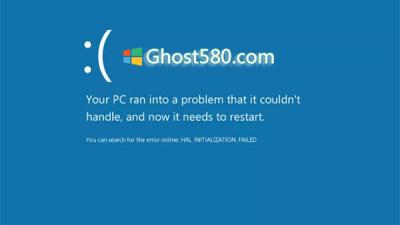 "Windows10:如何将您的计算机从""蓝屏死机""中拯救出来"