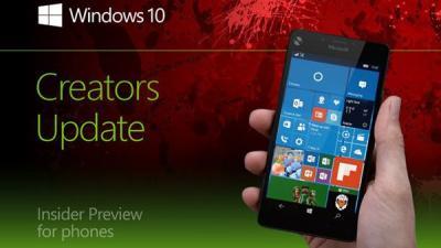快讯:Win10 Mobile创意者更新15043慢速预览版推送