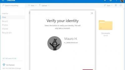 Windows10:在OneDrive Web上设置Personal Vault