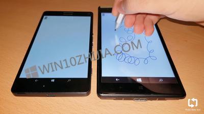 泄漏的原型在Win10 Mobile上显示Surface Pen支持