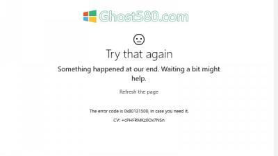修复Win10上的Microsoft Store错误0x80131500