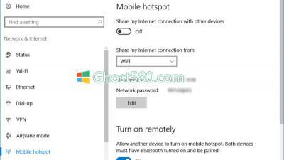 如何在Win10上空闲时自动关闭Mobile Hotspot