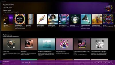 Win10 UWP版《Groove音乐》红石版更新:UX改进