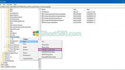 Win10:如何使用Registry设置更新和重新启动的截止日期
