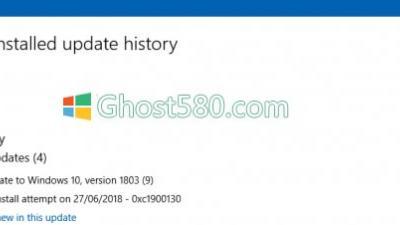 修复Win10上的Windows Update错误0xc1900130