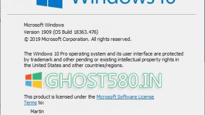 微软没有计划像Win10 1909那样进行将来的Win10更新