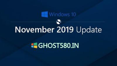 Windows 10 November 2019更新现已全面上市