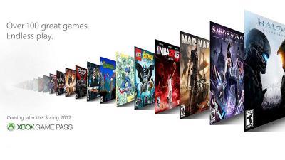 微软Xbox Game Pass订阅下载服务明日上线:首批上架112款游戏