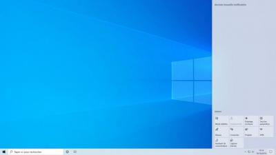 Windows 10,Microsoft修复了通知中心透明度错误