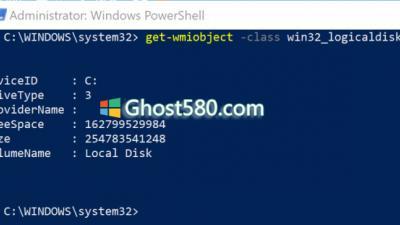 Windows10:如何使用Windows PowerShell查找有关硬盘驱动器的信息
