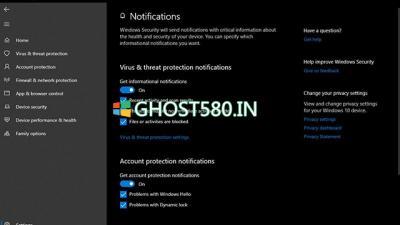如何配置Windows 10防病毒通知