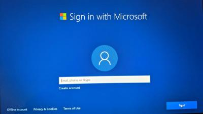 Microsoft如何更难创建Win10本地帐户