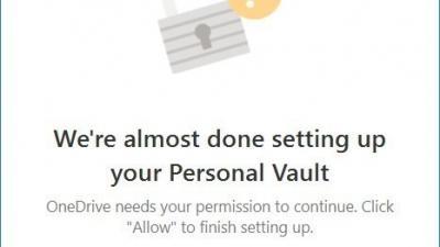 如何在Win10上设置OneDrive Personal Vault存储
