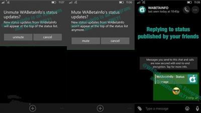 《WhatsApp》Win10 Mobile版新功能曝光:静默状态设置