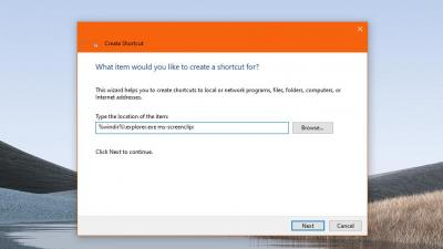如何从桌面启动新的Win10屏幕截图应用程序