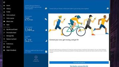 Win10 UWP版《微软健康》更新:bug修复与性能提升