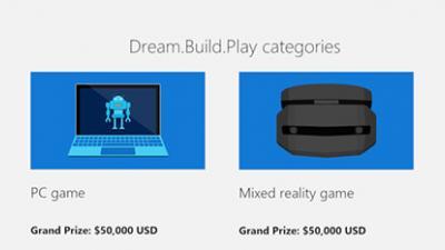 """20万美元奖金!微软""""引诱""""开发者打造原味Win10 UWP游戏"""