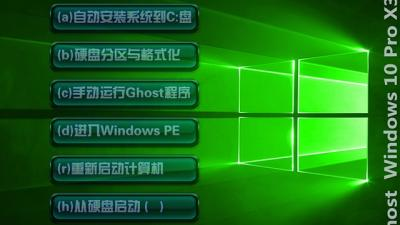 Ghost Windows10 X32专业版(18362.175)