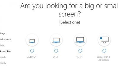 微软推出新工具来帮助您找到理想的Win10计算机