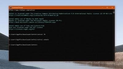 如何从命令行调整Windows 10音量