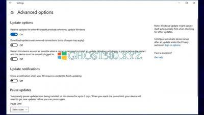 如何在安装Windows10更新后自动重新启动设备