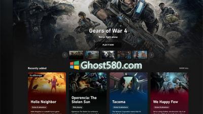 Win10上的PC游戏玩家推出的新Xbox应用程序