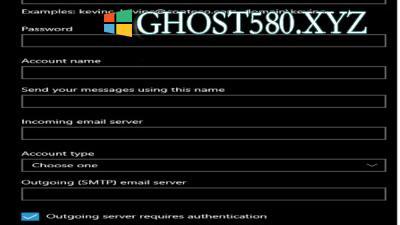 修复Windows 10 Mail应用错误0x8000000b