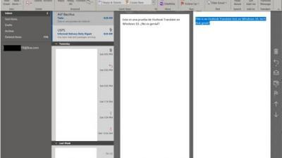 如何在Win10中的Outlook应用程序中翻译电子邮件
