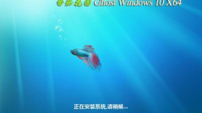 番茄花园Ghost Win10 X64快速装机专业版2016.06