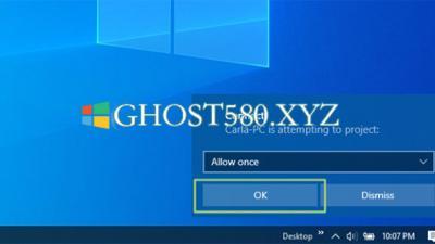 如何将Win10 PC变成无线显示器