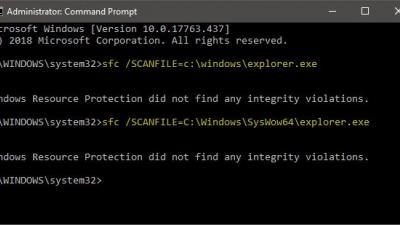 在Windows 10上找不到指定的过程错误
