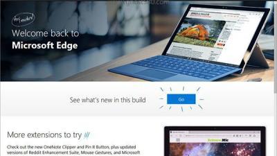 微软Windows10 Edge浏览器支持VP9等格式