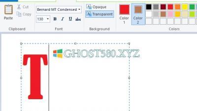 如何在Win10中的Microsoft Paint中添加文本和更改字体颜色